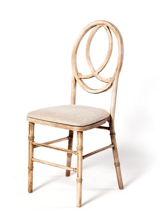 Infinity Chair Antique Natural Eventhaus Rentals